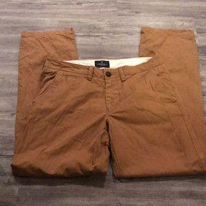 American Eagle Original Straight Khaki Pants—32/34